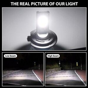Image 2 - 2 pieces 6500k 8500k 5000k ampoule led h7 h4 h11 h1 h9 9005 9006 hb3 hb4 cob headlights ampolleta led auto 12V 24V Auto Voiture