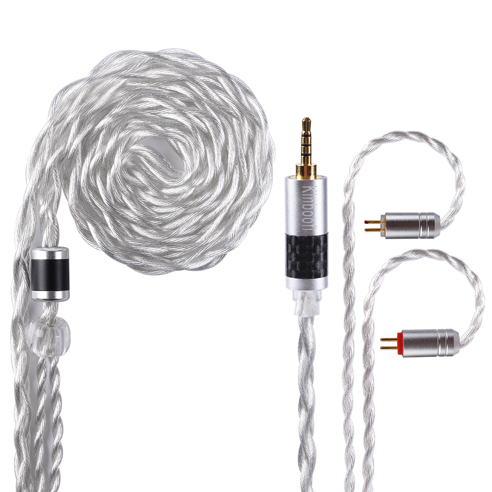 Kinboofi 4 Core Alloy With Silver Plated Copper Cable 2 5 3 5 4 4mm Balanced