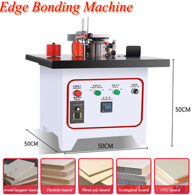 Edge Banding Machine Woodworking Manual Lifting Small Automatic Home Decoration Paint Free Board Fbjbjsy001