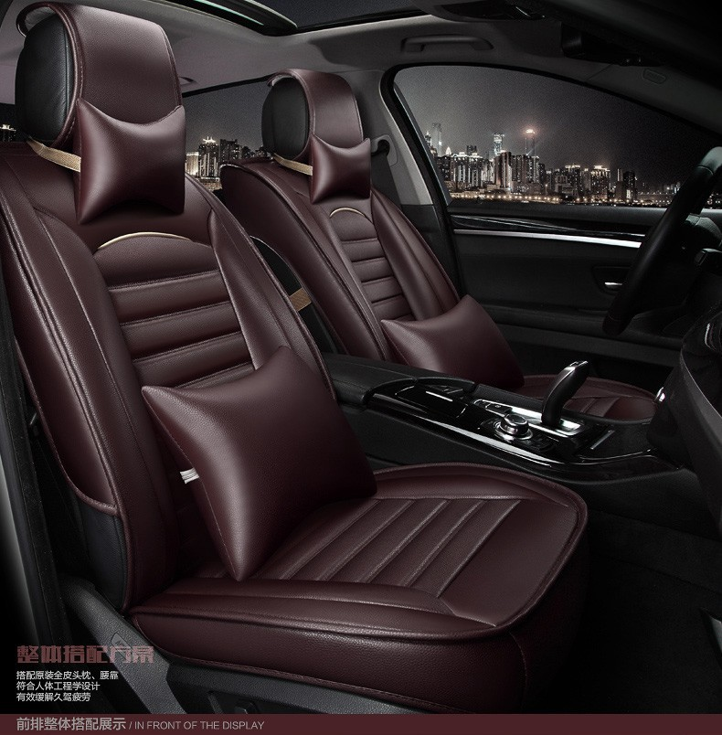for volvo s40 s80 s60 V40 V60 XC60 XC90 waterproof  black leather car seat cover front and back Complete set covers of car seat 2015 new arrival new vacuum pack food the wholesale supply of high quality mount huangshan rose premium tea pink beauty plants