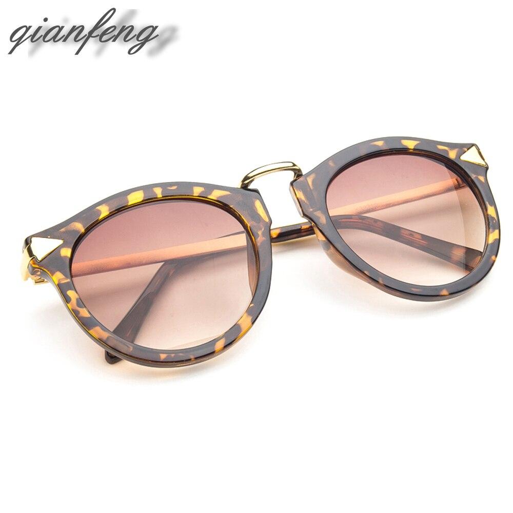 2018 qianfeng Gafas de sol mujeres polarizadas UV400 sol vintage oculos de sol  femenino de marca original con él a86409c183