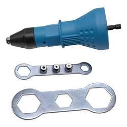 Электрический заклепки пистолет заклепочный инструмент беспроводные клепки адаптер для сверла вставить гайка инструмент клепки Дрель