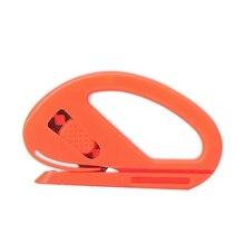 Оранжевый автомобиль аксессуары автомобиль Snitty волокна виниловая пленка Стикер Обертывание безопасности пластиковый резак нож для резки