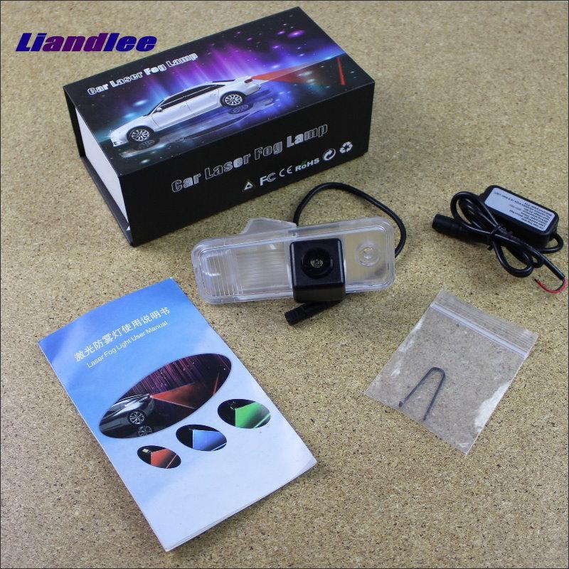 Liandlee For Hyundai ix25 2014~2015 Car Modification Decoration Fog Lamps Anti Warning Lights Outside Prevent Mist Haze