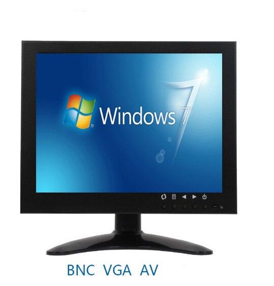 Affichage multifonction de TV d'affichage à cristaux liquides de 8 pouces pour l'entrée AV/HDMI/BNC/VGA de caméra de télévision en circuit fermé