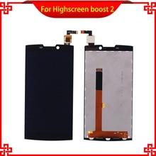 ЖК-дисплей Дисплей Для Highscreen Boost, 2 SE Сенсорный экран планшета Ассамблеи Высокое качество touch Панель мобильного телефона ЖК-дисплей S Бесплатная доставка