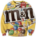 Sweatshirts Women Men Galaxy Tracksuit 3D Hoody Harajuku M&N print Ethnic Tops Hoodies