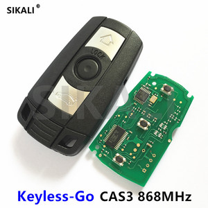 SIKALI SKL Car Comfort Access Remote Smart Key 868MHz for BMW 1/3/5 Series CAS3 X5 X6 Z4 Keyless-go Hands Free(China)