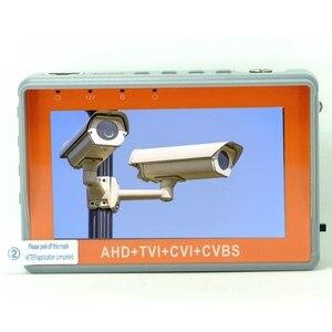 Image 2 - ポータブル4で1 ahd cvi tvi cvbsカメラテスターIV7W 4.3インチ液晶5mp cctvテスターモニターサポートptzコントローラutpケーブルテスト