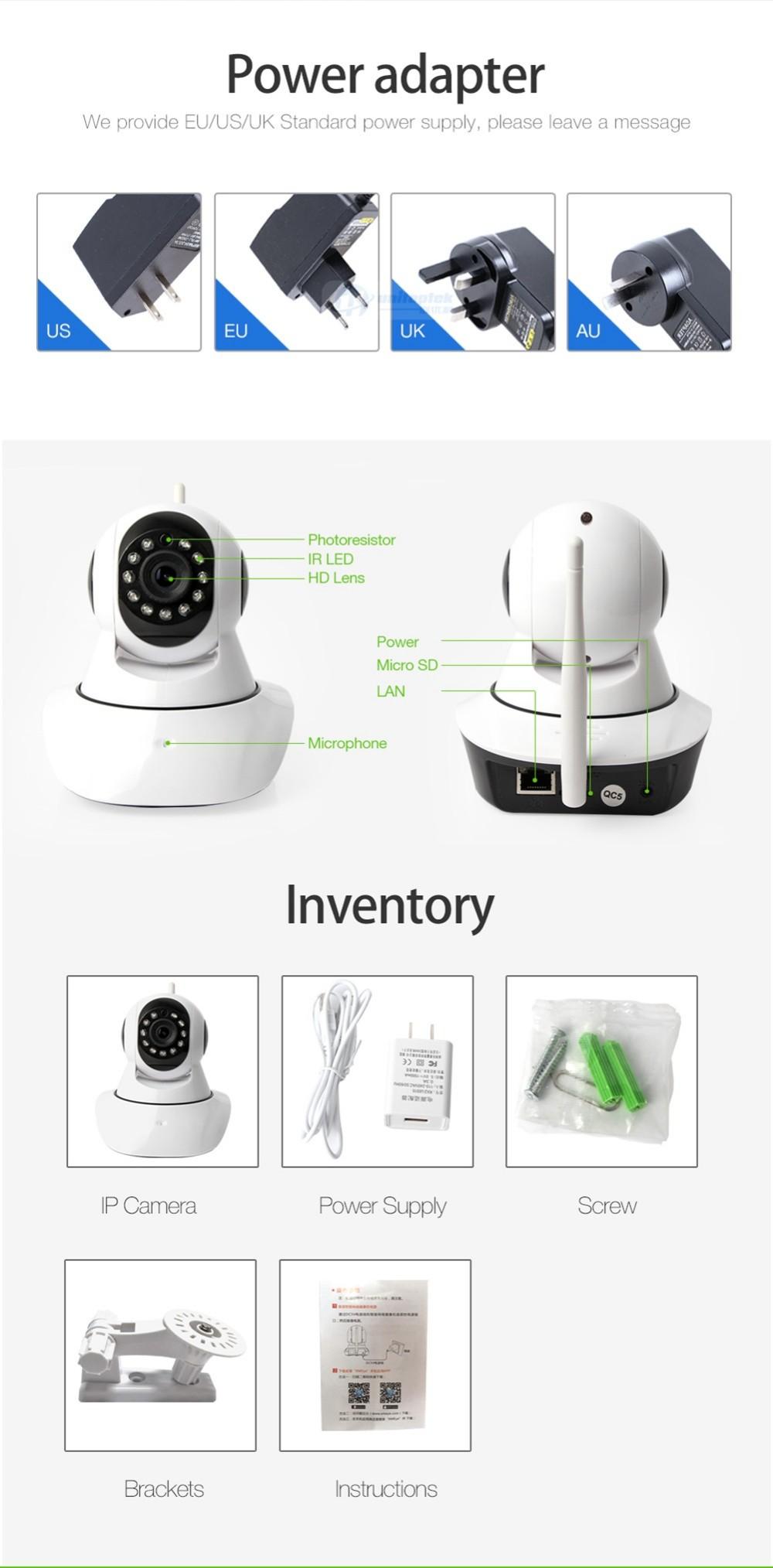10 Wireless Wifi Camera