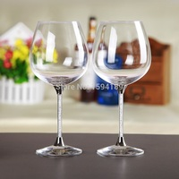 2016 New Design Lead Free Crystal 626ml Wine Glass Cups Cheap Wholesale Price Well Packed Box