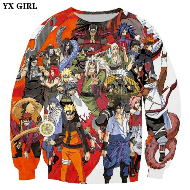 PLstar Cosmos Anime Naruto harajuku Comics Tops Tees 3D Print Hoodie/Sweatshirt Unisex Good Quality Top Cartoon Japanese-8