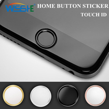 Touch Button Sticker For iphone 7 plus home button sticker iPhone 6S touch id iPad Air Mini 2 Support ID