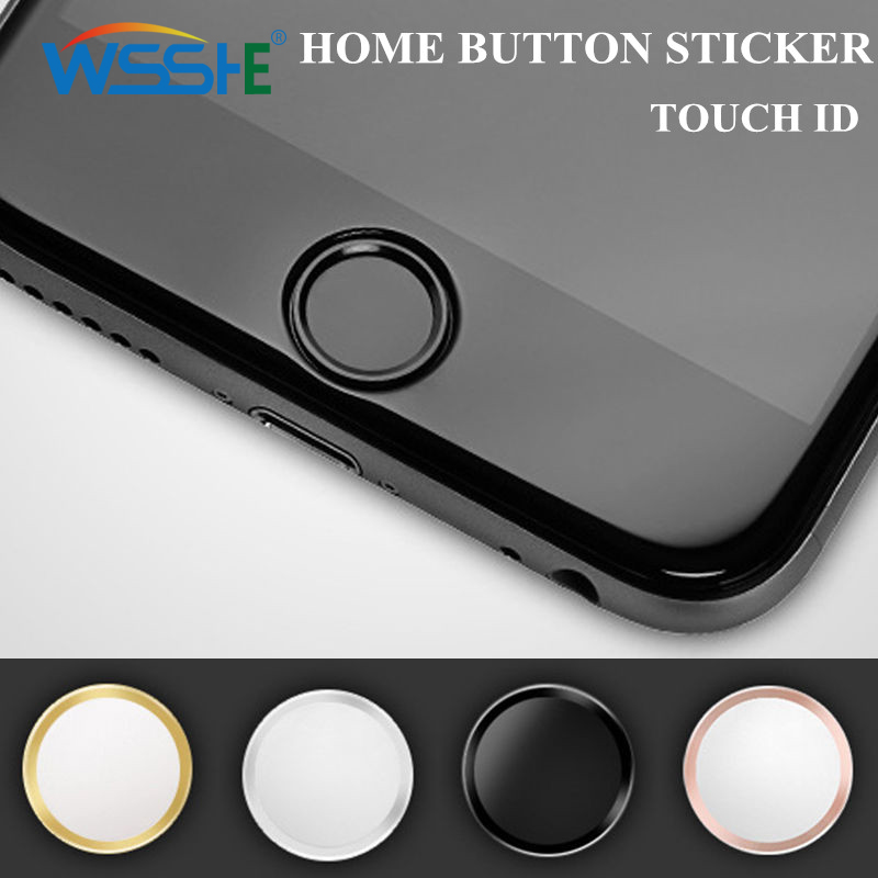 Touch Button Sticker For iphone 7 plus home button sticker For iPhone 7 6S touch id button For iPad Air Mini 2 Support Touch ID