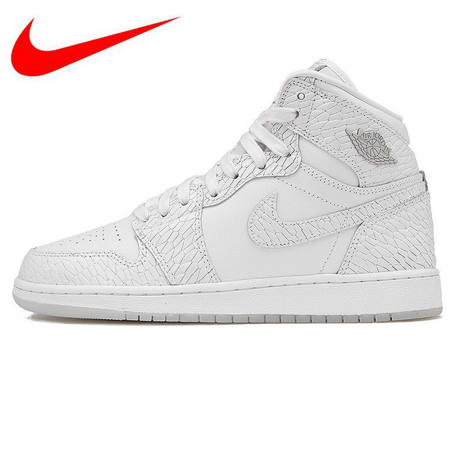 detailed look de264 19aab Nike Air Jordan 1 Retro High Pre HC AJ Women s Basketball Shoes, Outdoor  Shock-absorbing Comfortable Sneakers Shoes 832596 100