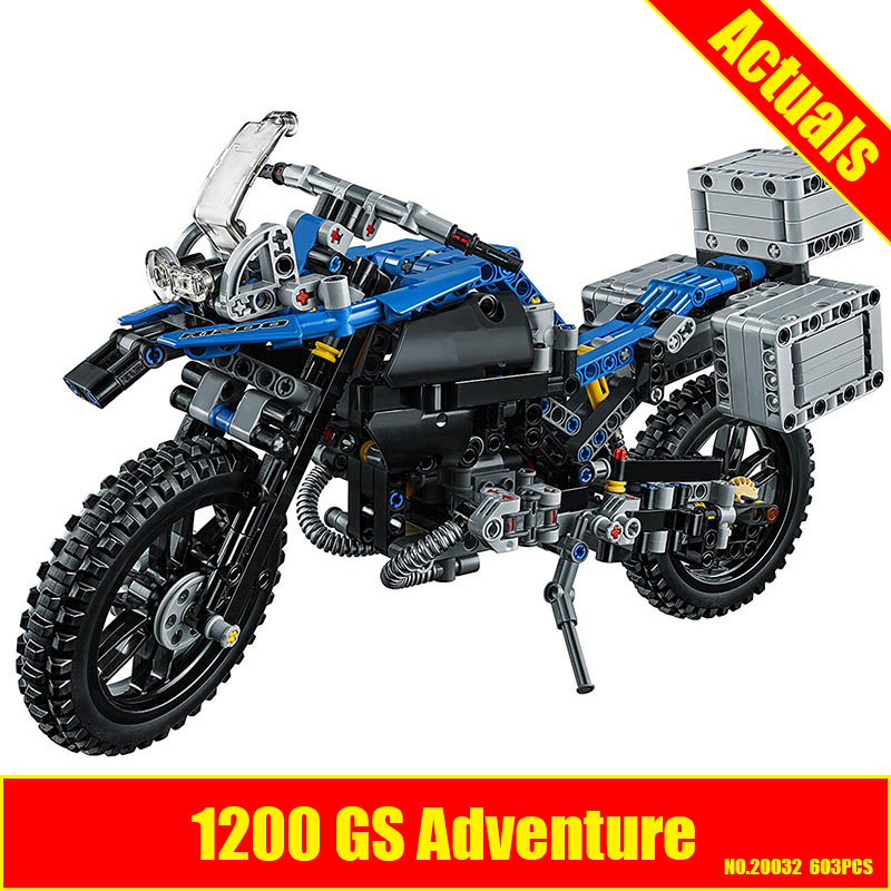 Lepin 20032 Technic Series The BAMW Off-road Motorcycles R1200 GS Building Blocks Bricks Educational Toys for Kid 42063