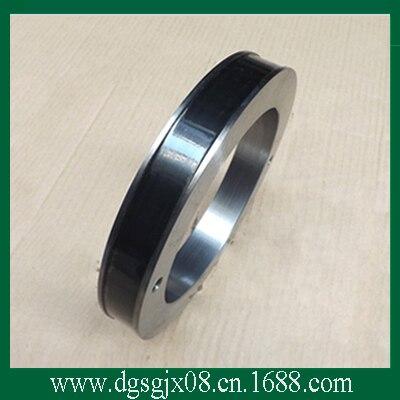 С керамическим покрытием стальное кольцо Средний/Большой Рисунок Машина Медной Проволоки Руководство Стальное Кольцо Keyway Исправлена