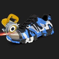 Smash and piercing safety protective shoes men shoes 3
