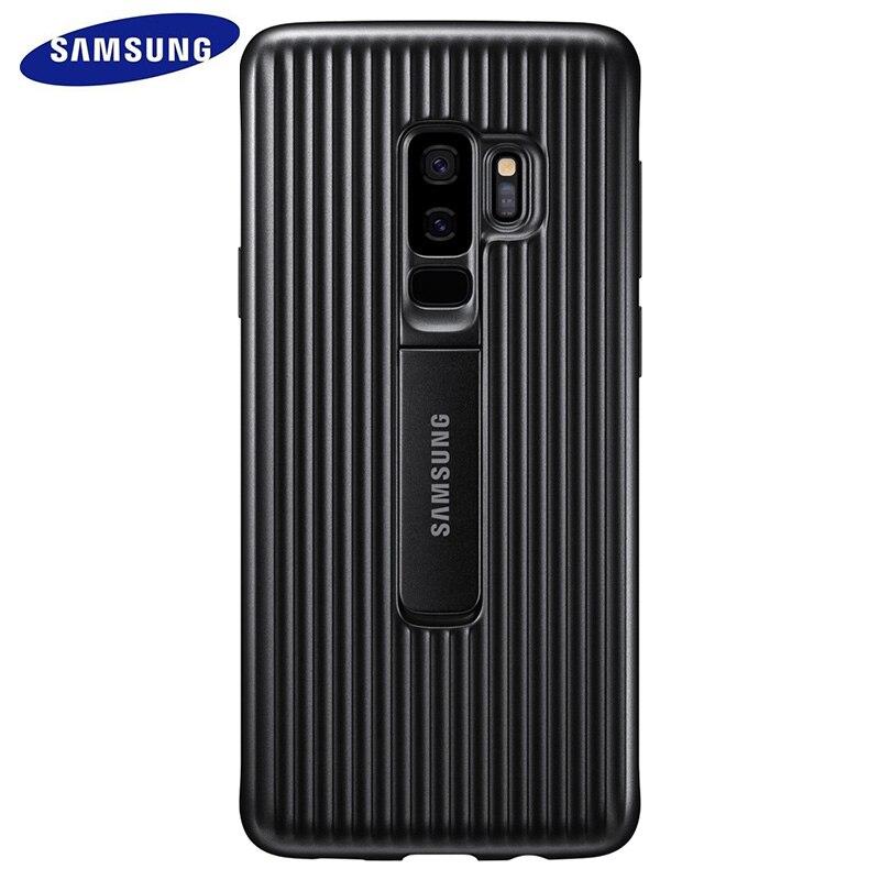Samsung Galaxy S9 S 9 Plus De Protection Permanente Housse Étui pour Téléphone Intelligent 360 Mignon Armure Luxe Flip S9plus Arrière D'origine couverture