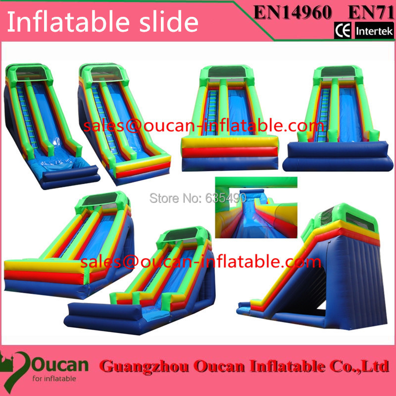 PVC inflatable slide or inflatable slide with pool for sale. new inflatable slide wave slide slide ocean hx 886