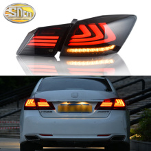 лучшая цена Car Styling LED Tail Lamp for Honda Accord 9 Tail Lights 2014-2016 for Accord Rear Light DRL+Turn Signal+Brake+Reverse LED light