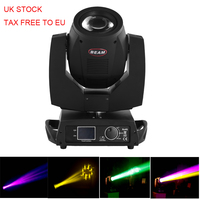 EU STOCK Lyre Beam 230W 7R Moving Head Light/ Beam 200 BeamW 5R/7R Disco Lights for DJ Club Nightclub Party DMX Stage Light