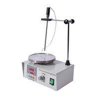 1PC High-temperature Constant temperature magnetic heating digital display stirrer 90-2 100-2000r/min  220V