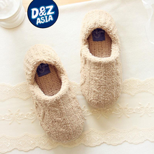 Millffy winter super soft chenille soft padded interior home soft bottom floor slippers home shoes