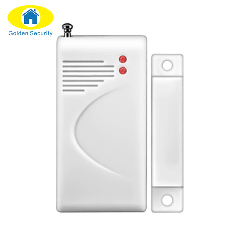 Golden Security  Coding EV1527 Wireless Door/window Magnetic Sensor detector for GSM Home security alarm systems 433/315Mhz high quality hot sale 100db wireless alarm system burglar safely security window door home magnetic sensor best promotion