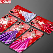 360 Full Body Coverage For iPhone 7 Case Ultra Thin 9H Hardness Tempered Glass Phone Case For iPhone X 8 6S 6 Plus Cover Cases