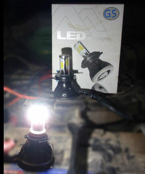 H4 9003 Headlight CREE LED Globe For Ford Ranger PJ PK PX Hi