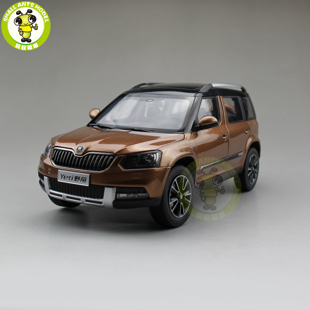 1 18 vw skoda yeti suv diecast metal suv car model gift. Black Bedroom Furniture Sets. Home Design Ideas