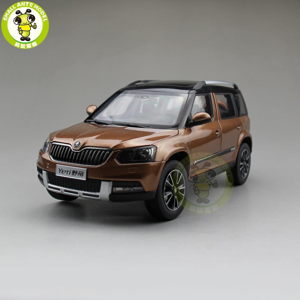 1/18 VW Skoda Yeti SUV Diecast Metal SUV CAR MODEL Gift