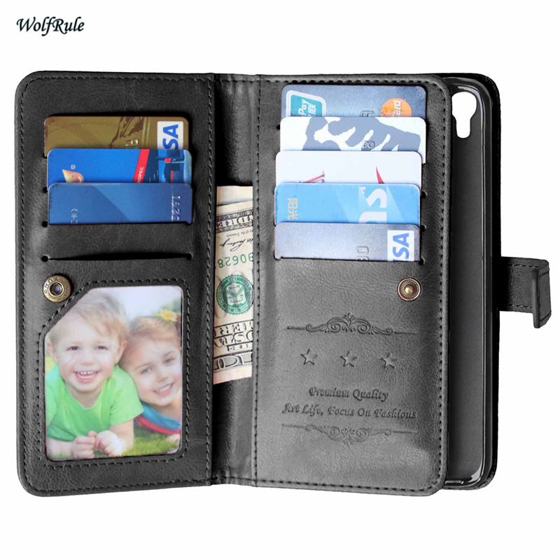Case For Alcatel One Touch Idol 3 5.5 inch Business Phone Wallet Flip PU Leather & Silicone Case For Alcatel Idol 3 Phone Holder