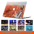 Flower Shell Case For Apple Macbook 11.6 12 13.3 15.4 Air Pro Retina laptop Protector For Mac book 11 12 13 15 inch case logo