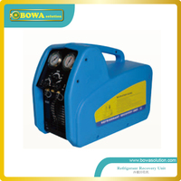Portable Refrigerant Recovery Recycling Unit Working For HCFC HFC And CFC Equipments