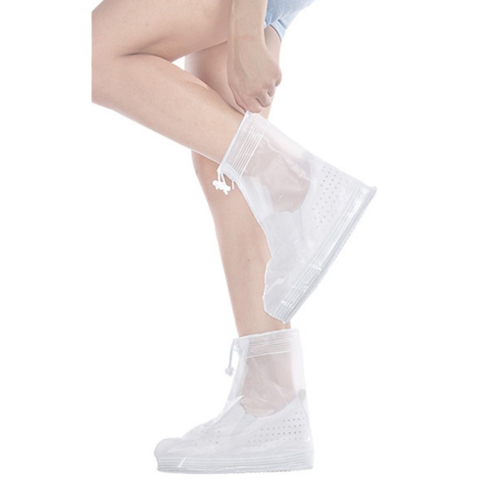 Водонепроницаемая обувь Чехлы для мангала все сезоны скольжению многоразовые резиновые сапоги по Обувь Для мужчин женская обувь Интимные ... ...