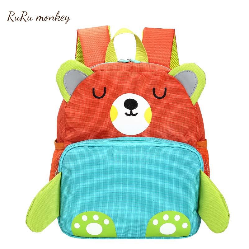 de Alta Qualidade Kid 3d Backpack Alunos Schoolbag