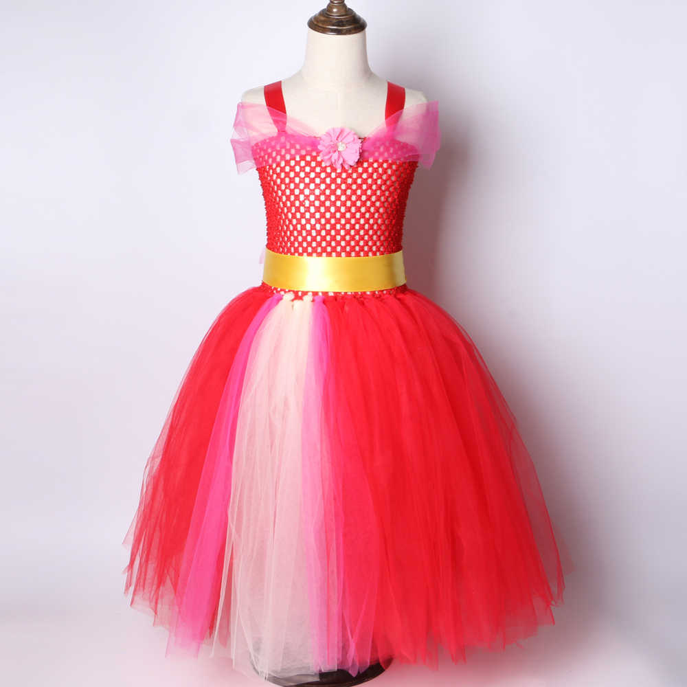 663015f03 Detail Feedback Questions about Elena of Avalor Tutu Dress Red Girls ...
