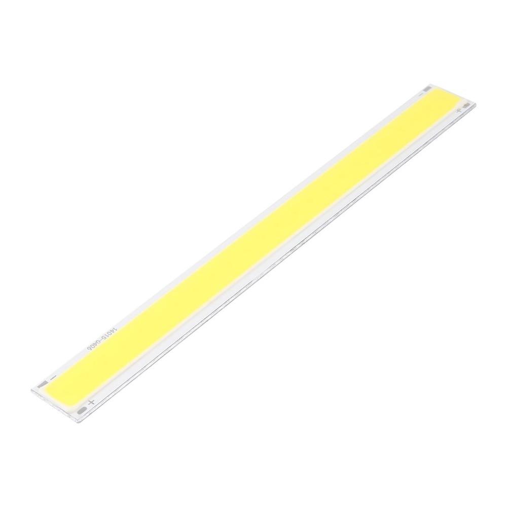 LED Lamp Strip Bulb 4W 140*15mm DC 12V COB LED Strip Lamp Light White Lighting Source For DIY LED Matrix Chip On Board Bar