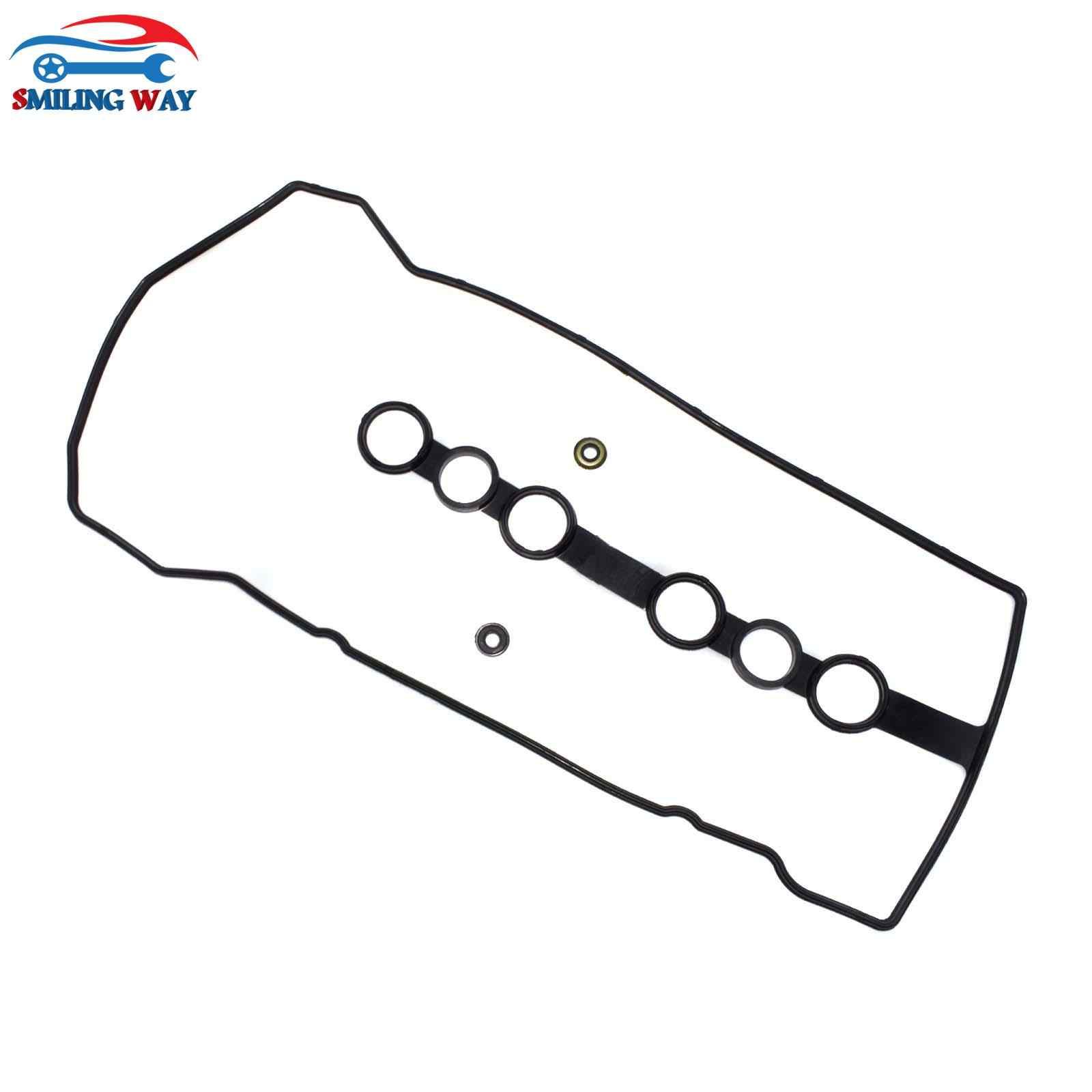 smiling way engine valve cover gasket & 2 grommets seal for chevrolet prizm & toyota corolla 1 8l 1998 1999 oe vs50544r 05 corolla engine toyota 1 8l engine diagram #10