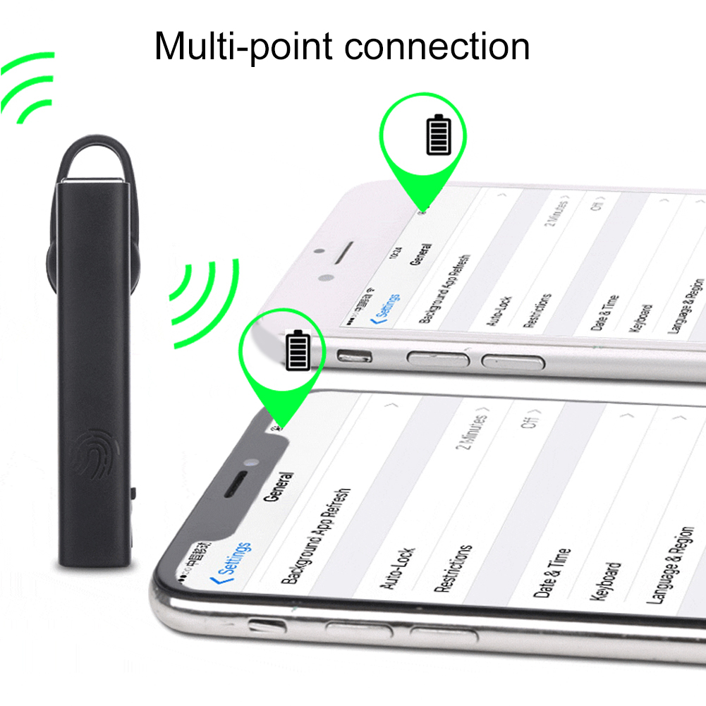 HAOHA T1 Wireless Bluetooth Touch Control Stereo Sound Wireless Bluetooth Ear Bud In ear Earphone Touch Control Stereo Sound in Bluetooth Earphones Headphones from Consumer Electronics