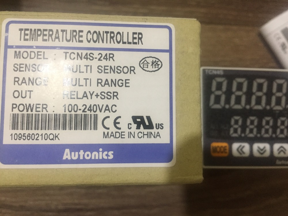 New original authentic TCN4S-24R Autonics thermostat temperature controller new original authentic cylinder cdq2wb32 15dc