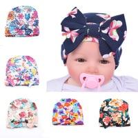 Newborn Baby Toddler Kid Boy Girl Bowknot Beanie Hat Cap Hair Accessories