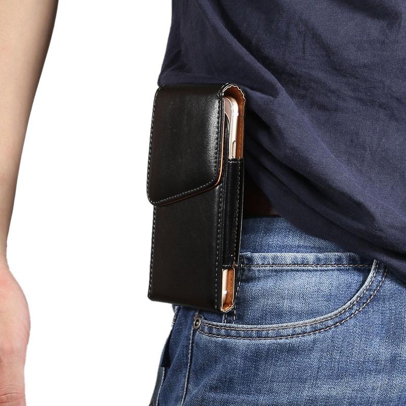 Samsung Galaxy S8 Belt Clip Holster Luxury PU- ի կաշվե - Բջջային հեռախոսի պարագաներ և պահեստամասեր - Լուսանկար 3