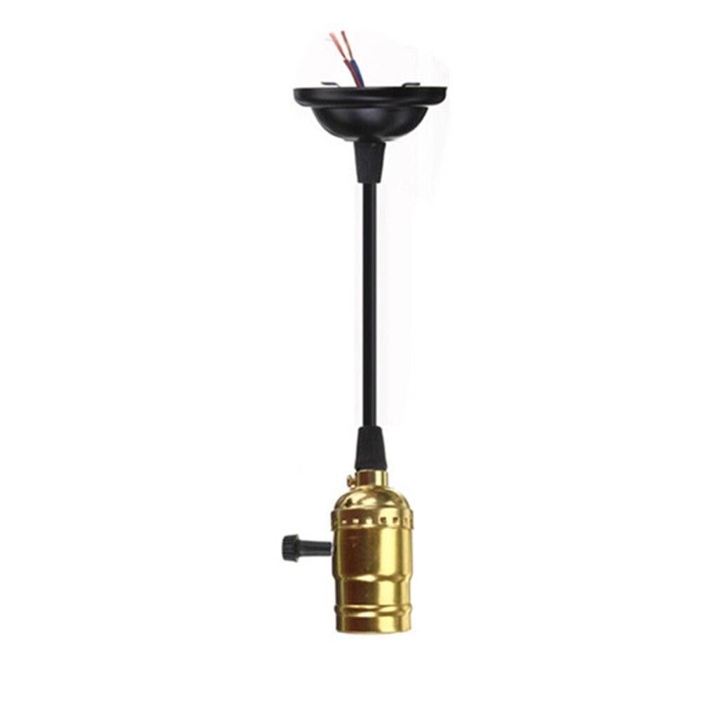 Yellow lamp base - Classical E27 Edison Lamp Holder Bulb Aluminum Retro Lamp Holder Shell Lighting Accessories China
