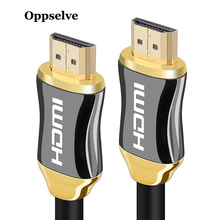 Oppselve HDMI Cable HDMI to HDMI 2.0 HDR 4K For Splitter Extender Adapter Nintend Switch HDTV PS4 1m 2m 3m 5m 10m Cable HDMI 3D цена в Москве и Питере