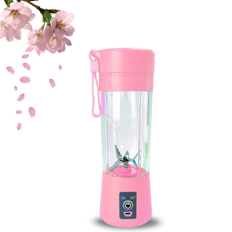 400ml Portable Personal Juice Blender And USB Juicer Cup With Multi-function For Smoothies And Baby Food 4