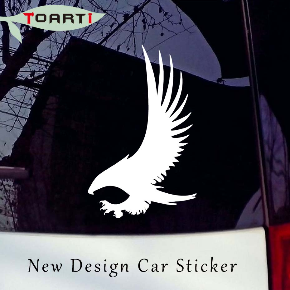Eagle With Its Wings Spread Car Styling Bird Car Sticker