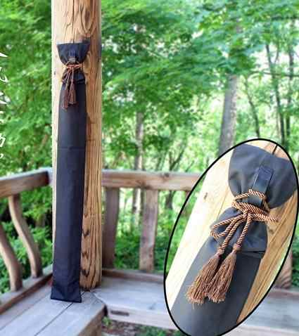 Bamboo katana swords bag Kendo kung fu martial arts warrior knives bags Japanese knife sword bag